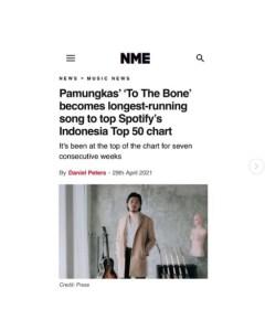 """""""To The Bone"""" Sukses Bawa Pamungkas Pecahkan Rekor"""