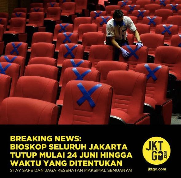 XXI Tutup Kembali: Hanya di Beberapa Bioskop Saja