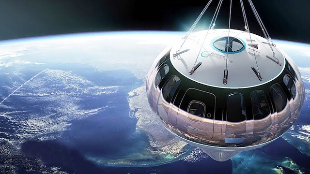 Yuk wisata ke luar angkasa (Foto via YouTube CNET)