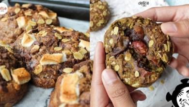 Delice by Dite ciptakan soft cookies vegan yang unik(Foto via Instagram delicebydite)