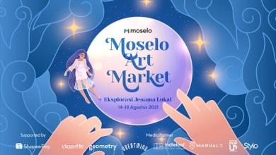 Moselo Art Market: Eksplorasi Jenama Lokal