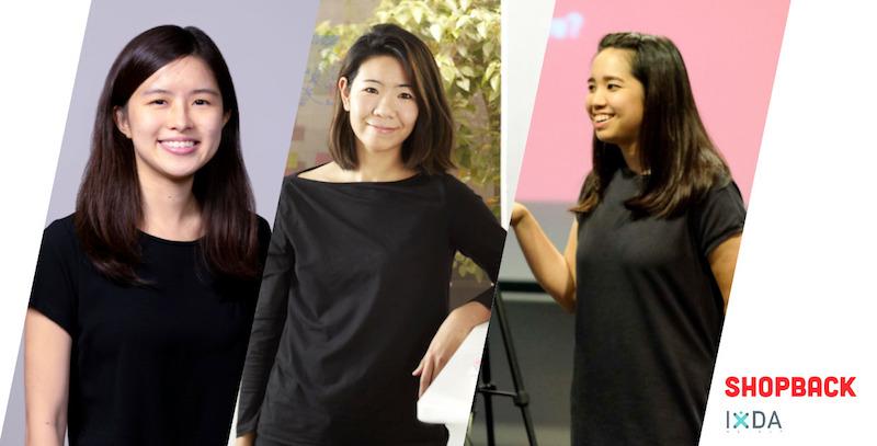 Jasmine Wong, Amy Huang, dan Naning Utoyo menceritakan pengalaman mereka menjadi UX Researcher