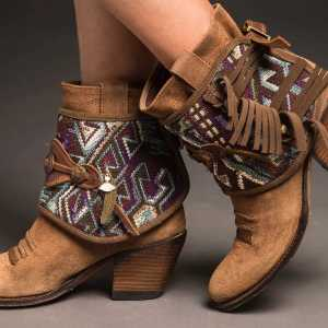 CUBREBOTAS KILIM FREE HEART coverboots