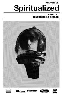 Flyer: Spiritualized en el Teatro de La Ciudad