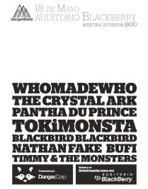 Flyer: Danger Beats Fest en el Auditorio Blackberry