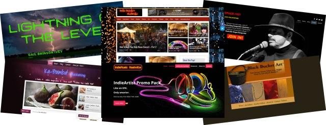Indie Music Marketing Website Design, Building, & Hosting by IndieMusicNashville.com