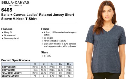 Sizing Info & Details