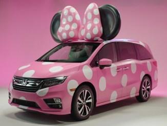 La Honda Oddysey Minnie Van es uno de los vehículos más deseados por los fans de Disney