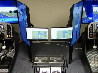 Zona de simuladores de ATS