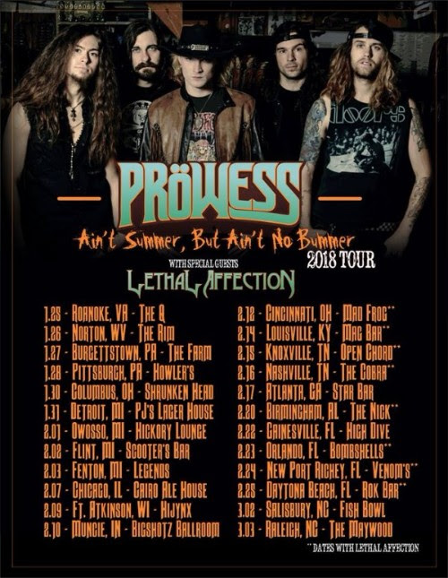 prowess tour