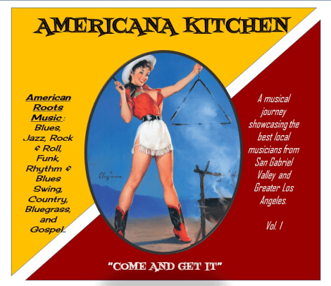 AMERICANA KITCHEN COME AND GET IT CD COVER ART