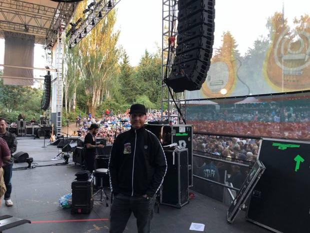 Logan Lynn backstage - Summer Tour (2018)
