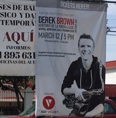 Derek Brown poster
