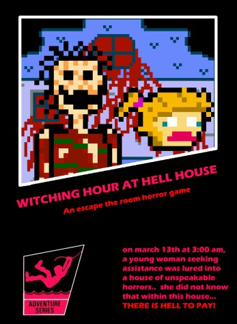 Witching Hour at Hell House Poster