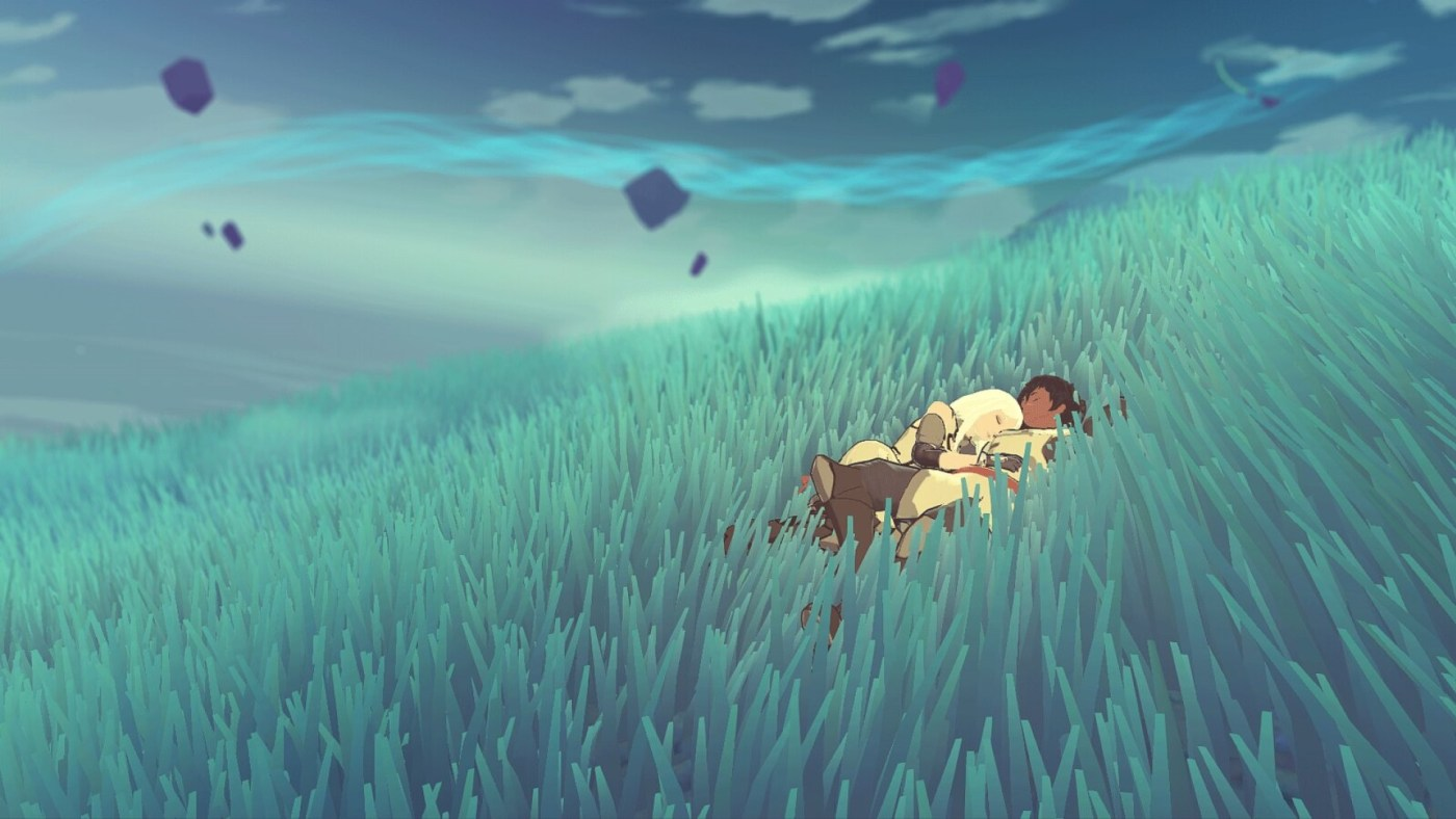 Haven is a relaxing game about two lovers on an alien planet.