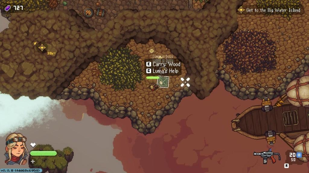 Luma bug in the game