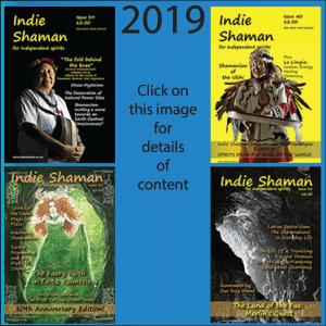 2019 PDF Back Issue Bundle of Indie Shaman Magazine