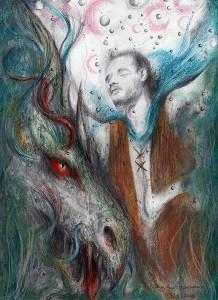 Tarolan and the Dragon by Cathy Leigh Tsoukalas