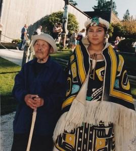 Grandfather Misha, Coast Salish Gathering