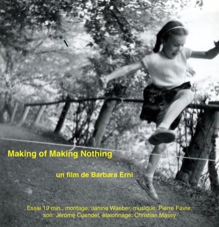 Making of Making Nothing