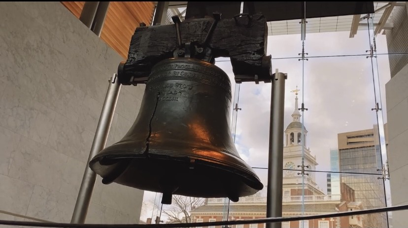 The Liberty Bell and The Assembly of Freedom