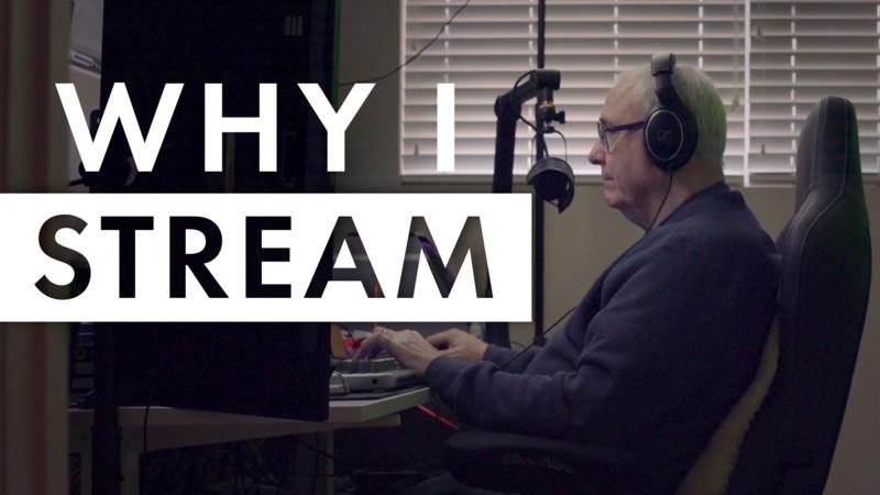 Why I Stream - GrndPaGaming