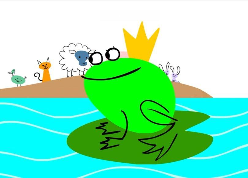 PeaceTime: A Royal Frog