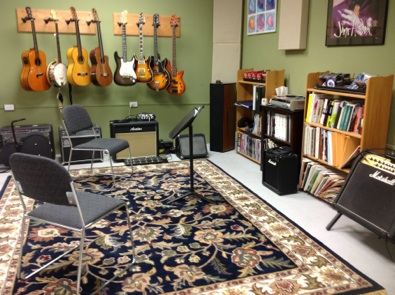 Highland Guitar Studio, Manchester, CT