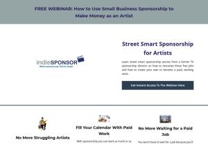 free artist sponsorship webinar