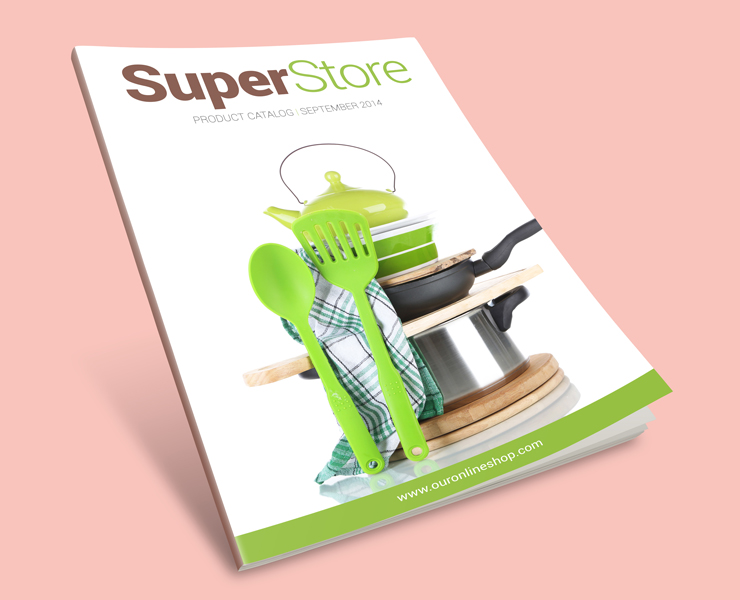 Modern Product Catalog template cover