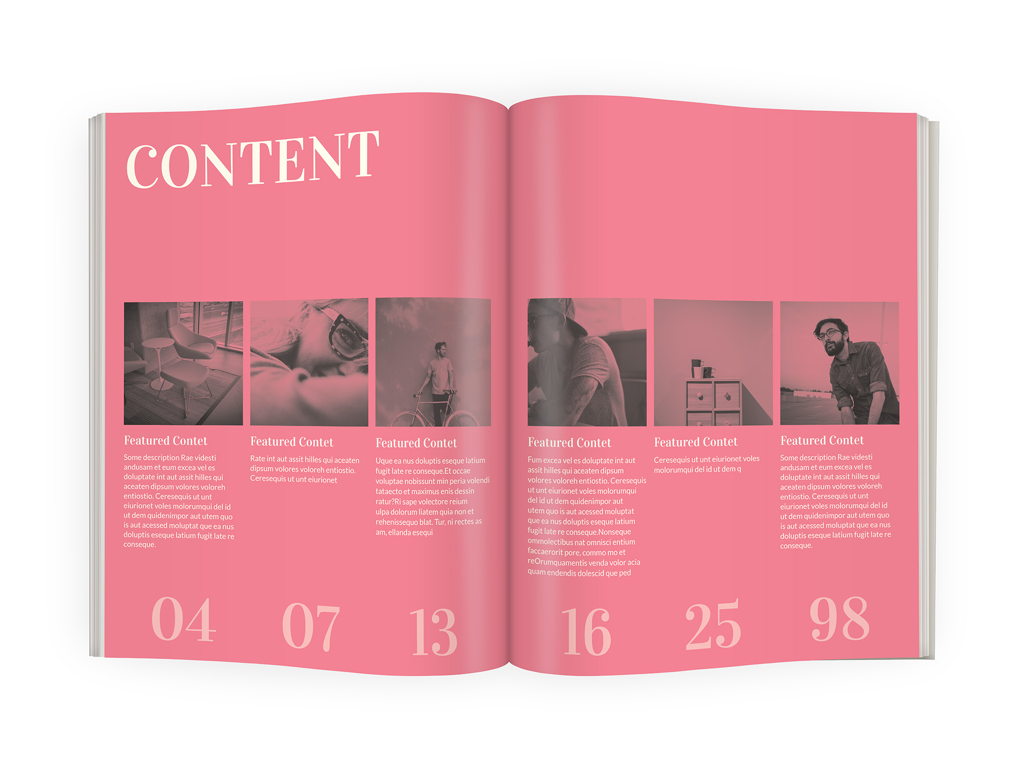 poser - magazine indesign template