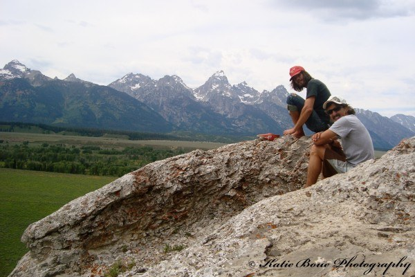 In the Grand Teton National Park