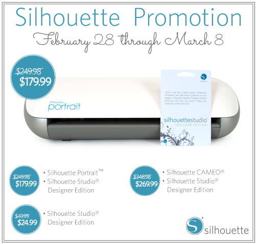 Silhouette March Promo via Indie Wed