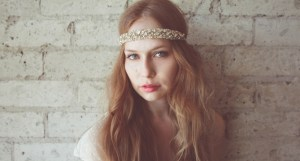Headband from Mignonne Handmade, who uses vintage materials in her pieces
