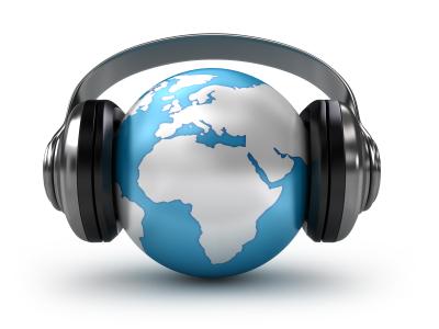 World With Headphones