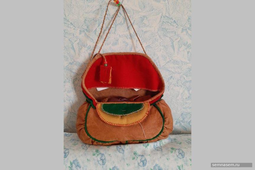 Саамская женская сумка