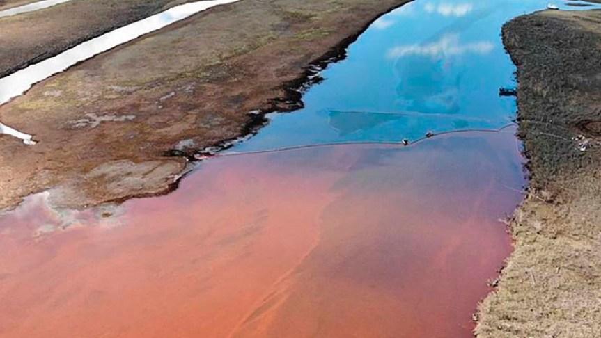 ВНИРО, норильск, экологическая катастрофа, возмещение ущерба