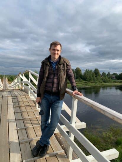 Алексей Цыкарев в Юшкозере