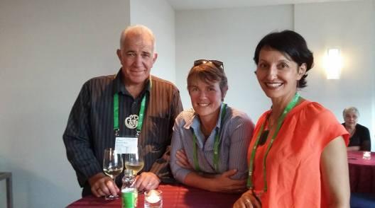 Manuka Henare, Chris Woods and Billie Lythberg