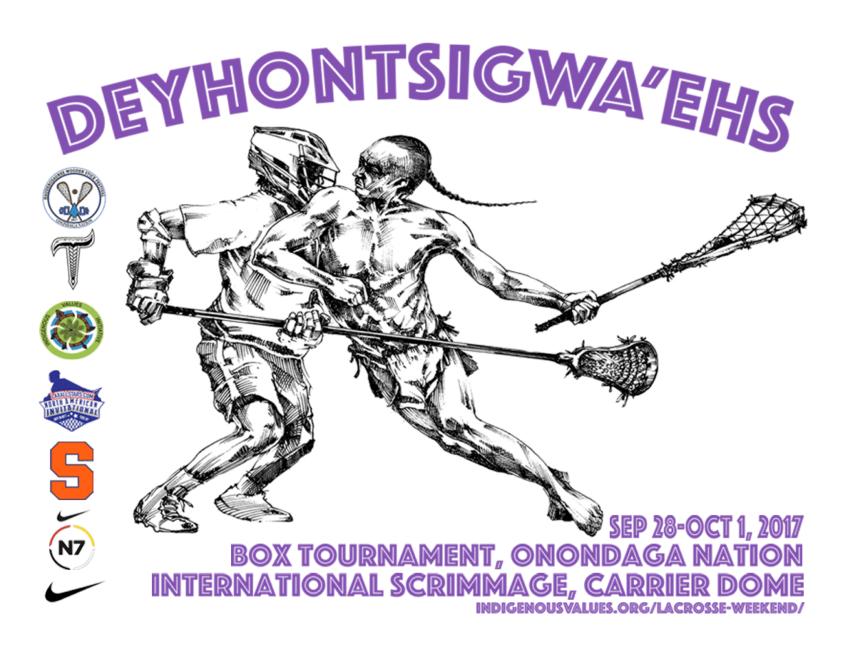 Creators Game Lacrosse Weekend Poster 2017