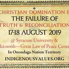 2019 Doctrine of Discovery Conference Flyer