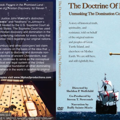 Doctrine of Discovery: Unmasking the Domination Code DVD cover