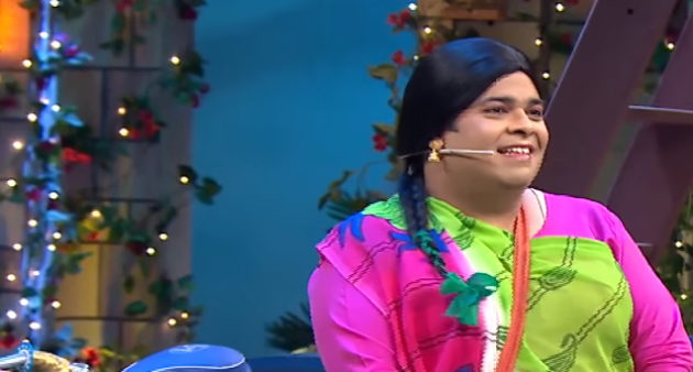 Santosh in Kapil Sharma Show