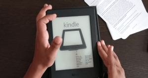 unboxing amazon kindle paperwhite
