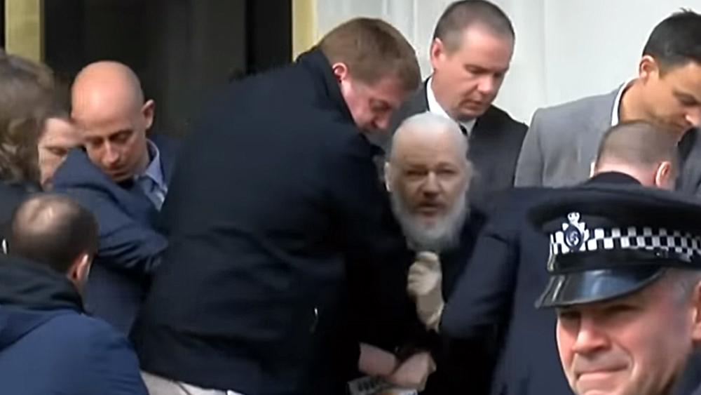 Weet je nog toen Julian Assange Google openbaarde als een NSA-massabeveiligingstool van de diepe staat?