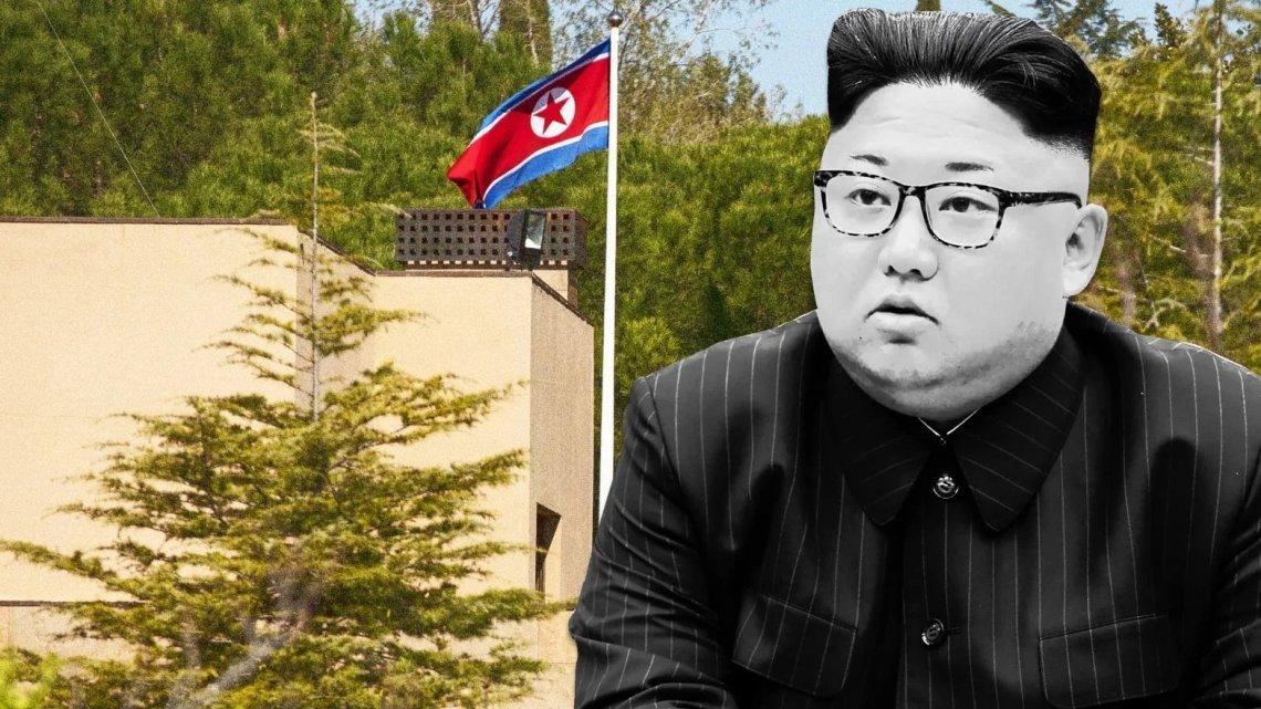 Vermoeden richt zich op de VS in de mysterieuze ambassade-inval in Noord-Korea
