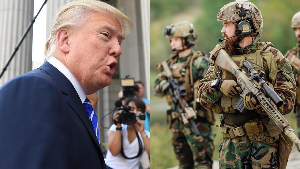 Trump valt militair industrieel complex aan en pleit voor infrastructuurinvesteringen in het Midden-Oosten