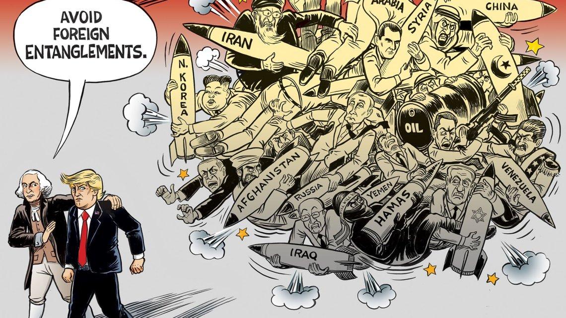 Hoe het Amerikaanse regime sancties gebruikt om een land zwak te maken voor invasie