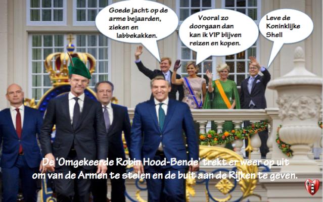 En toen was daar Rutte, die de bedrijven bevel gaf om de lonen op te schroeven.