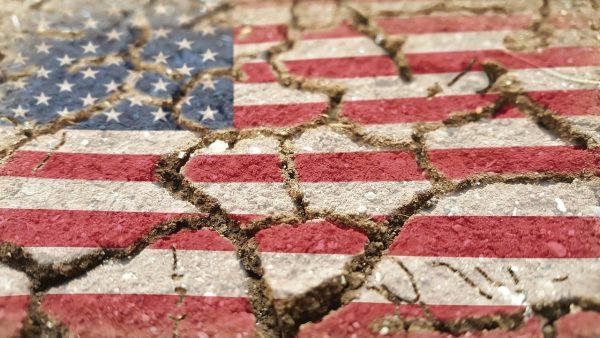 Een geest van wetteloosheid is neergedaald op de straten van de VS
